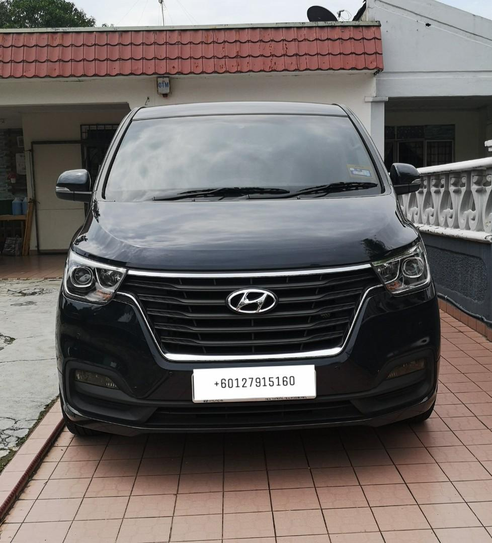 Taxi service & New Hyundai Starex For Rental, one day JB tour, transfer SG-JB-SG