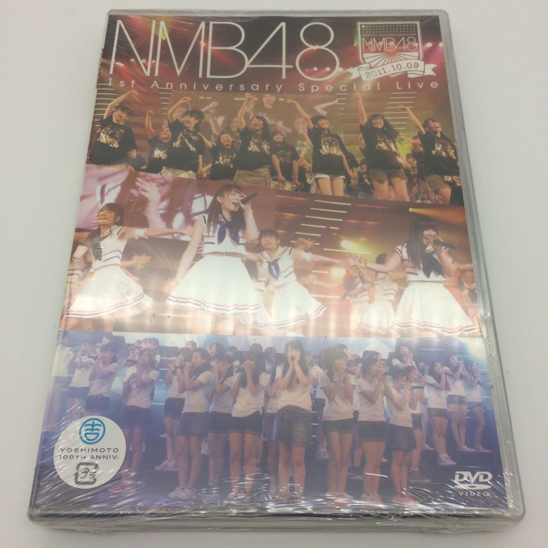 清貨蝕讓  NMB48 1st Anniversary Special Live DVD 日本版 附特典 生寫真