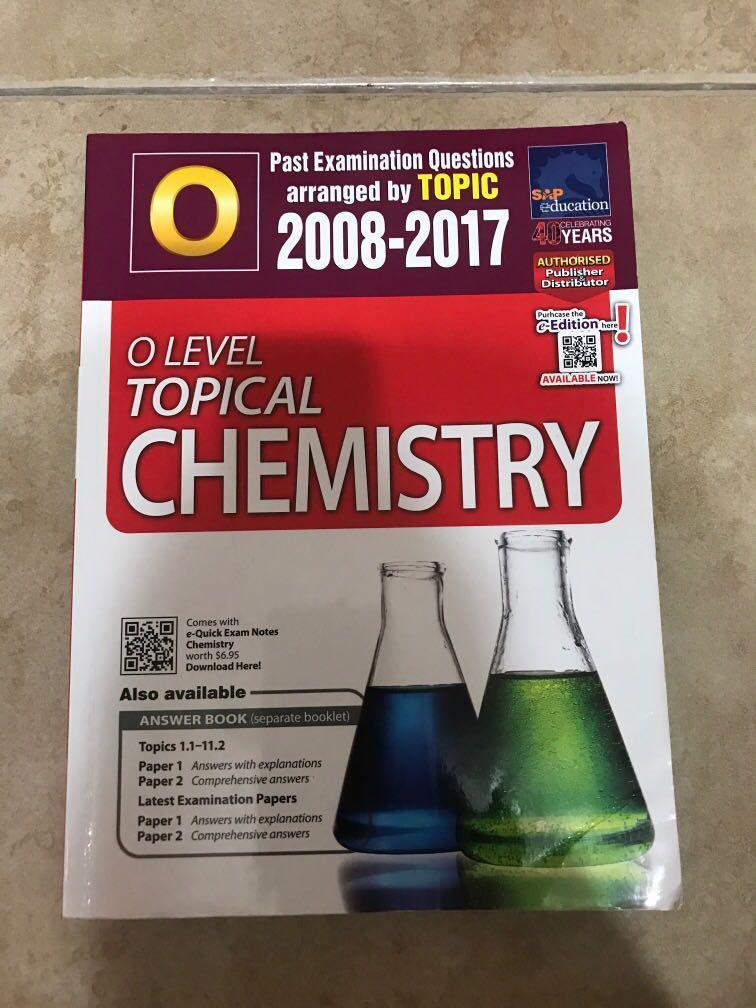 O Level Chemistry TYS, Chemistry Matters