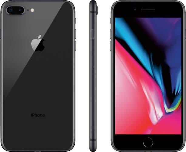 Perfect used condition iPhone 8 Plus - Space Gray 256gb