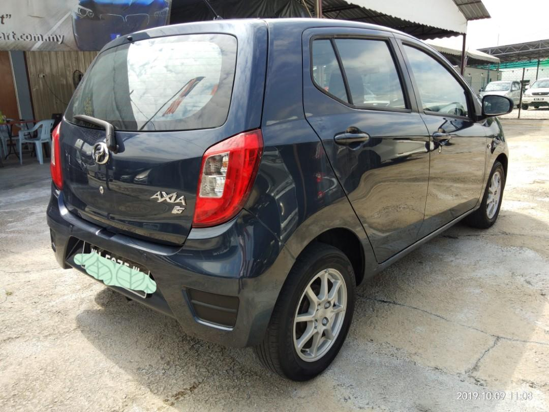 Perodua Axia 1.0 GXtra AT (2014)((blacklist))~can loan. on the road Price RM22,888.88