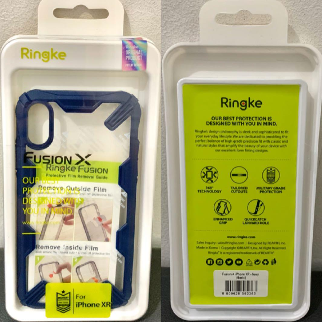Ringke Fusion X for iPhone XR 6.1 inch ORIGINAL - NAVY