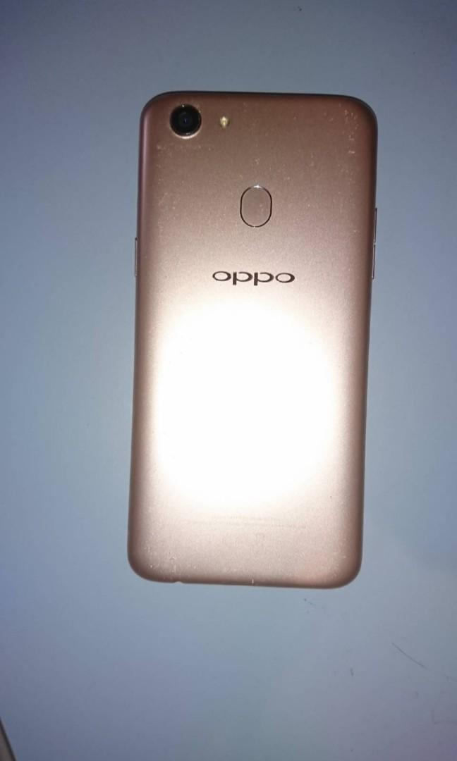 Rose Gold Oppo A73 32GB Phone + Charger - good used condition