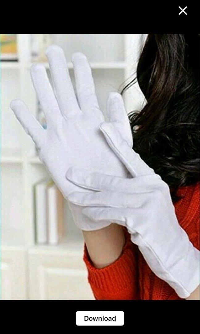 Sarung Tangan Putih Paskibra