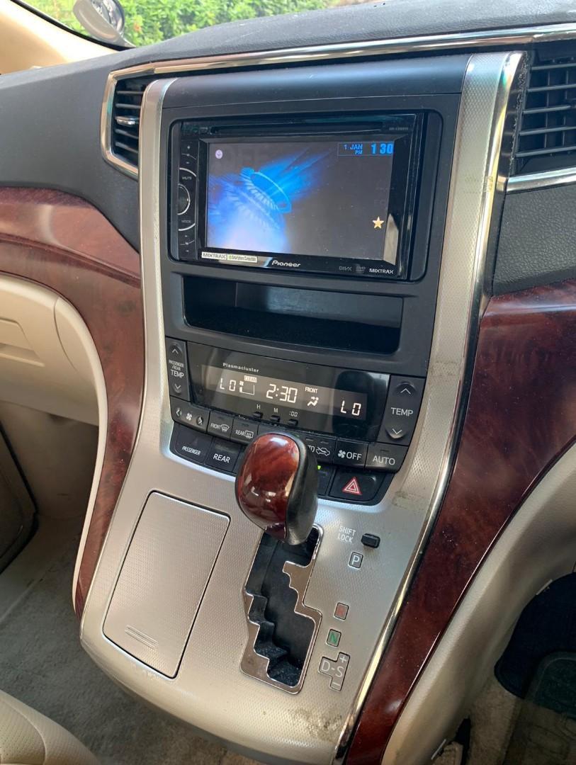 TOYOTA ALPHARD 3.5  V62008