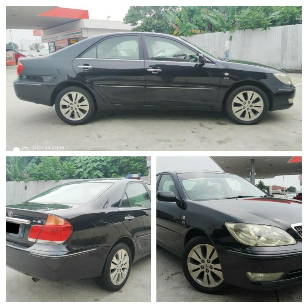 TOYOTA CAMRY 2.4CC AUTO YEAR~2005 blacklist~can loan.on the road Price ~RM27,888.88