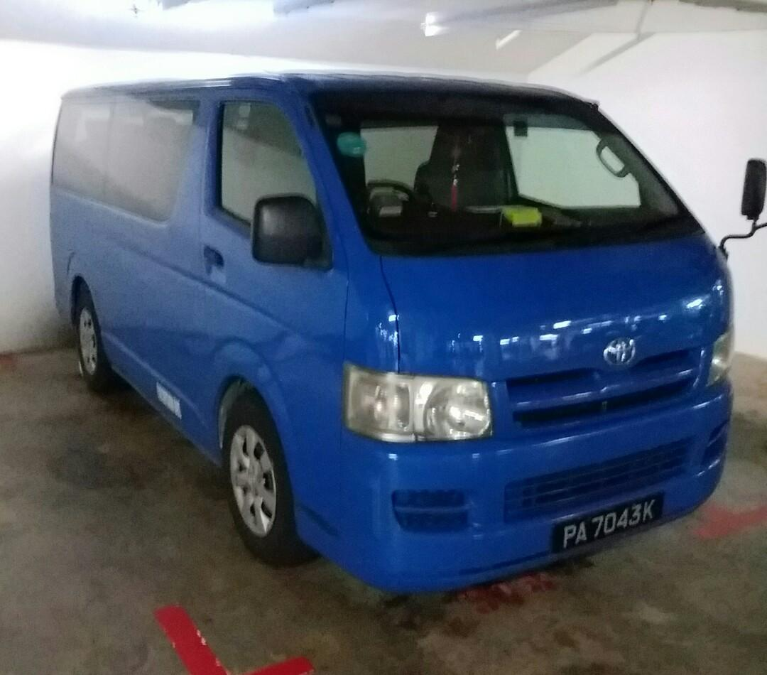 Toyota Hiace,10seats,minibus,to airport (1way or 2way),party,travell sightseeing. or from point  to point. reasonable price.😘call for price