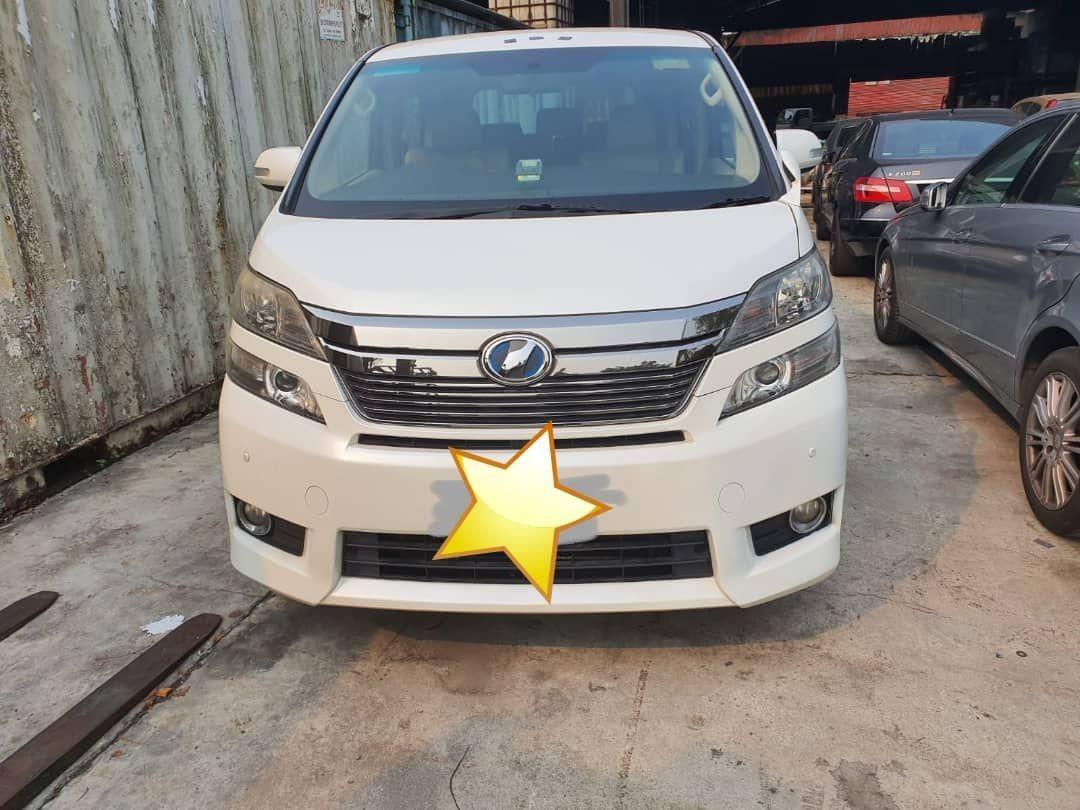 Toyota vellfire(CAR SG COMPLETE DOCUMENT MALAYSIA)