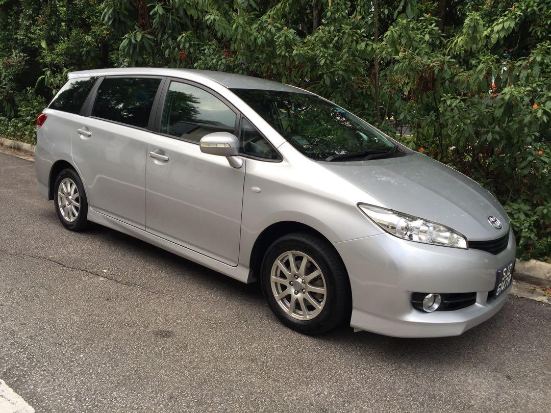 Toyota Wish 1.8 MPV For Go Jek & Grab Rental ( Go-Jek Partner ) $420/Wk