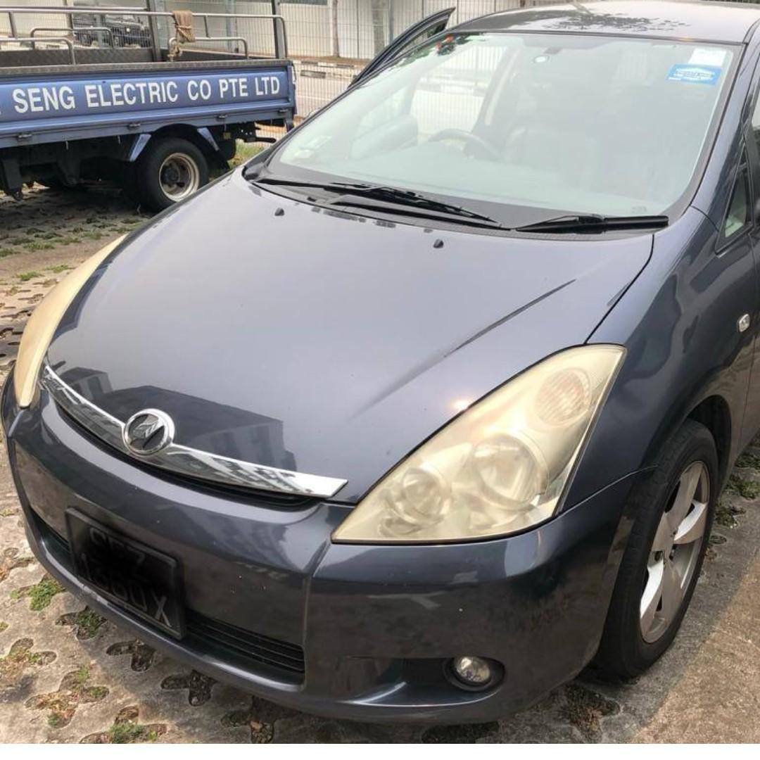 Toyota Wish 1 week PROMO
