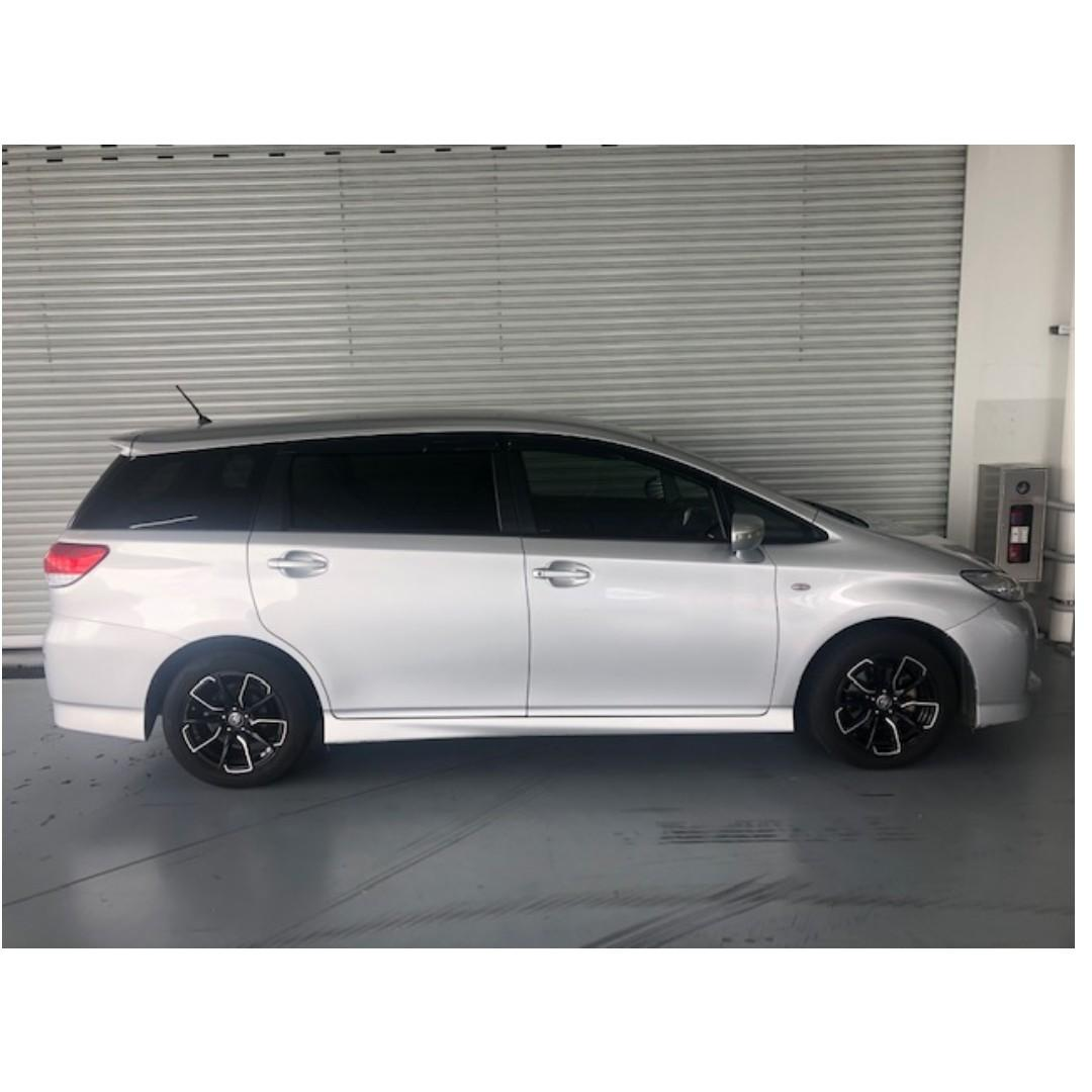 Toyota Wish with rental rebate EXCELLENT condition