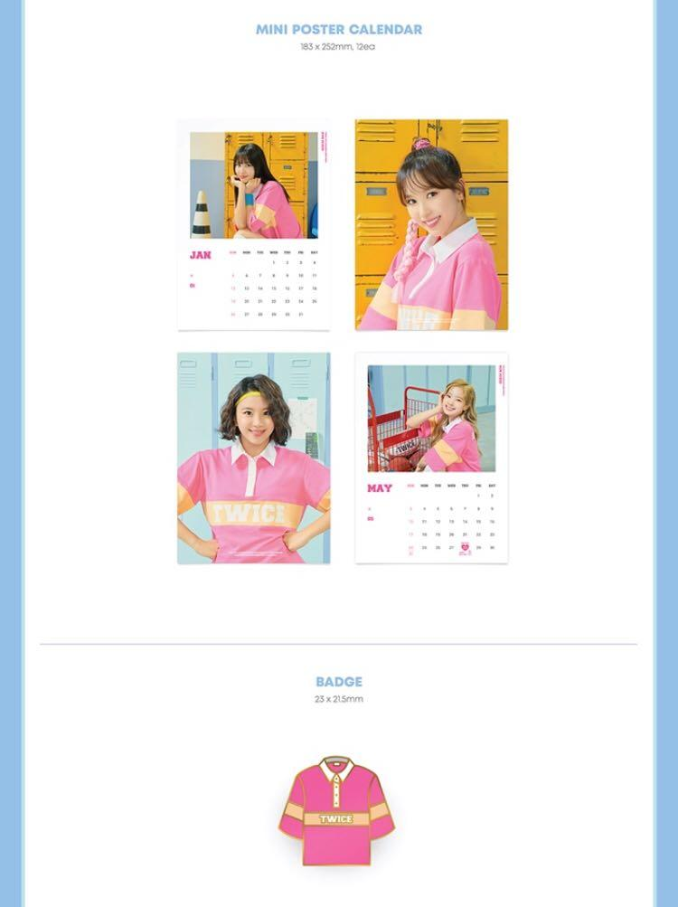 TWICE 2020 Season Greeting-Run 20X20  ✔️Second payment pls read in the details