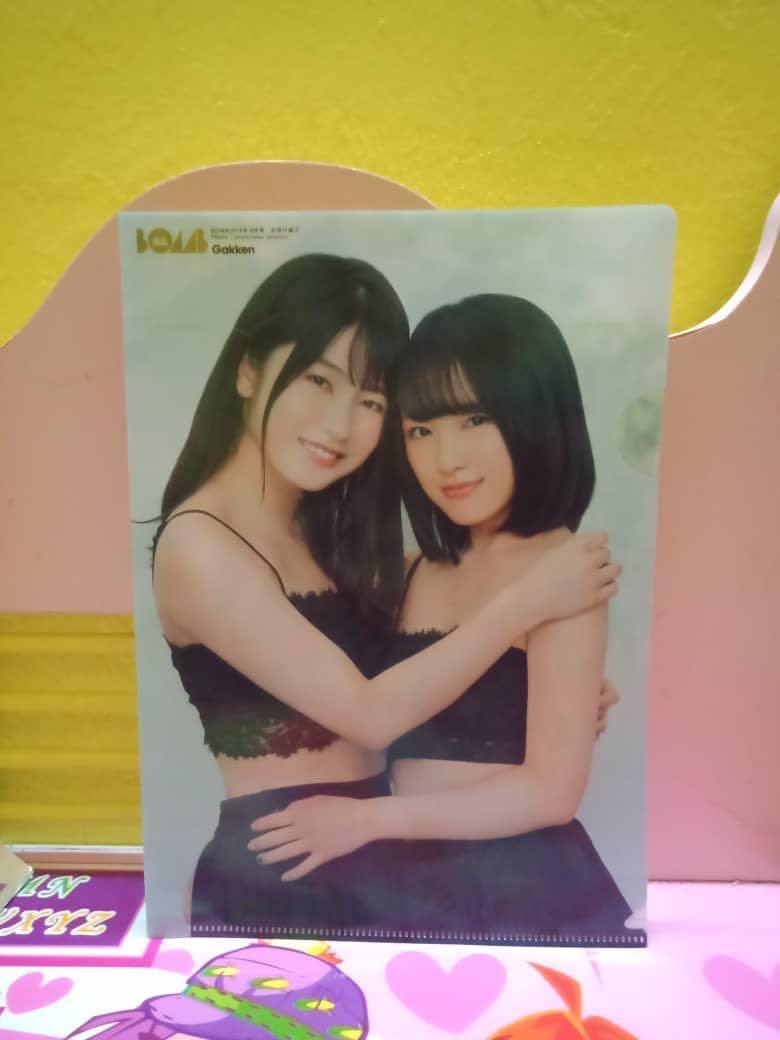(Urgent Sell)BOMB MegazinexAKB48 Official File-Yokoyama YuixMukaichi Mion