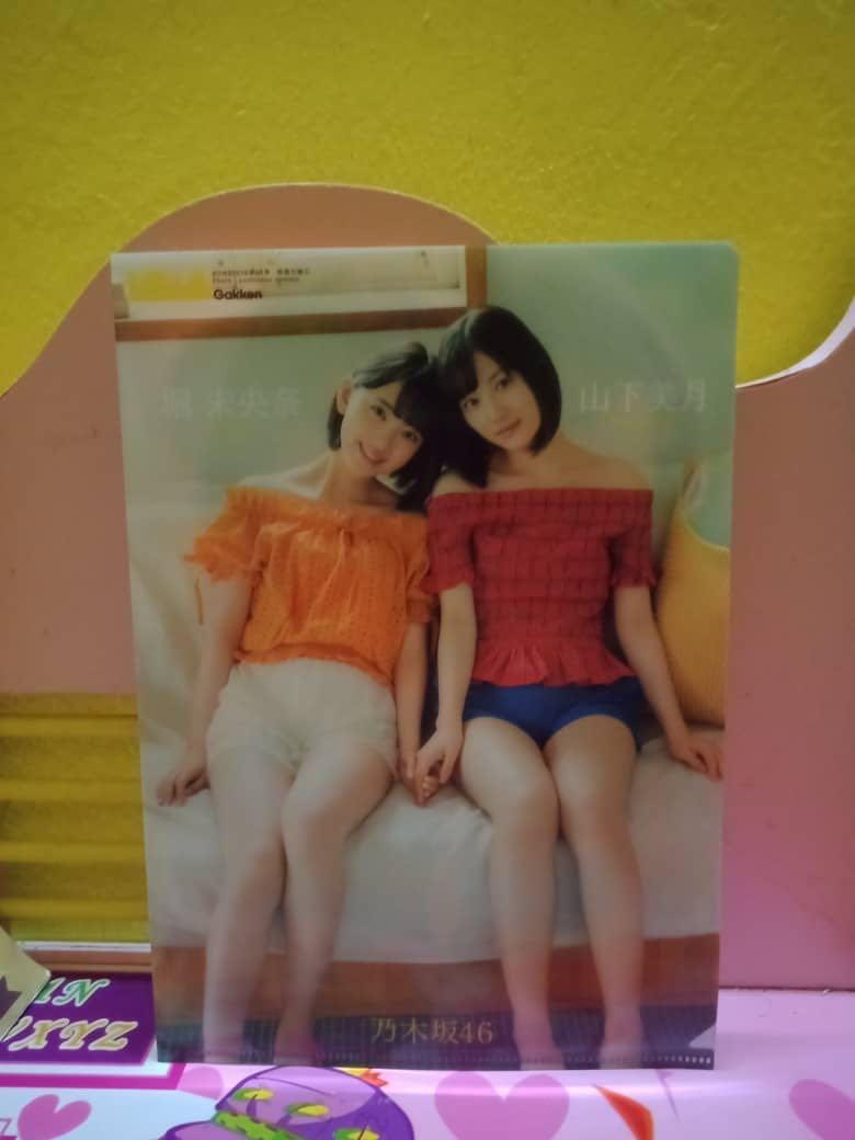 (Urgent Sell)BOMB MegazinexNogizaka46 Official File-Miona HorixMizuki Yamashita
