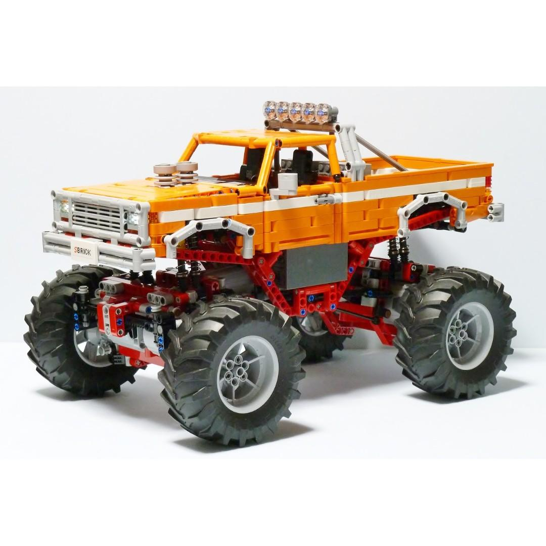 Vintage Monster Truck Moc 31327 By Madoca1977 Lego Based Technic Creation Remote Control Rc Toys Games Bricks Figurines On Carousell
