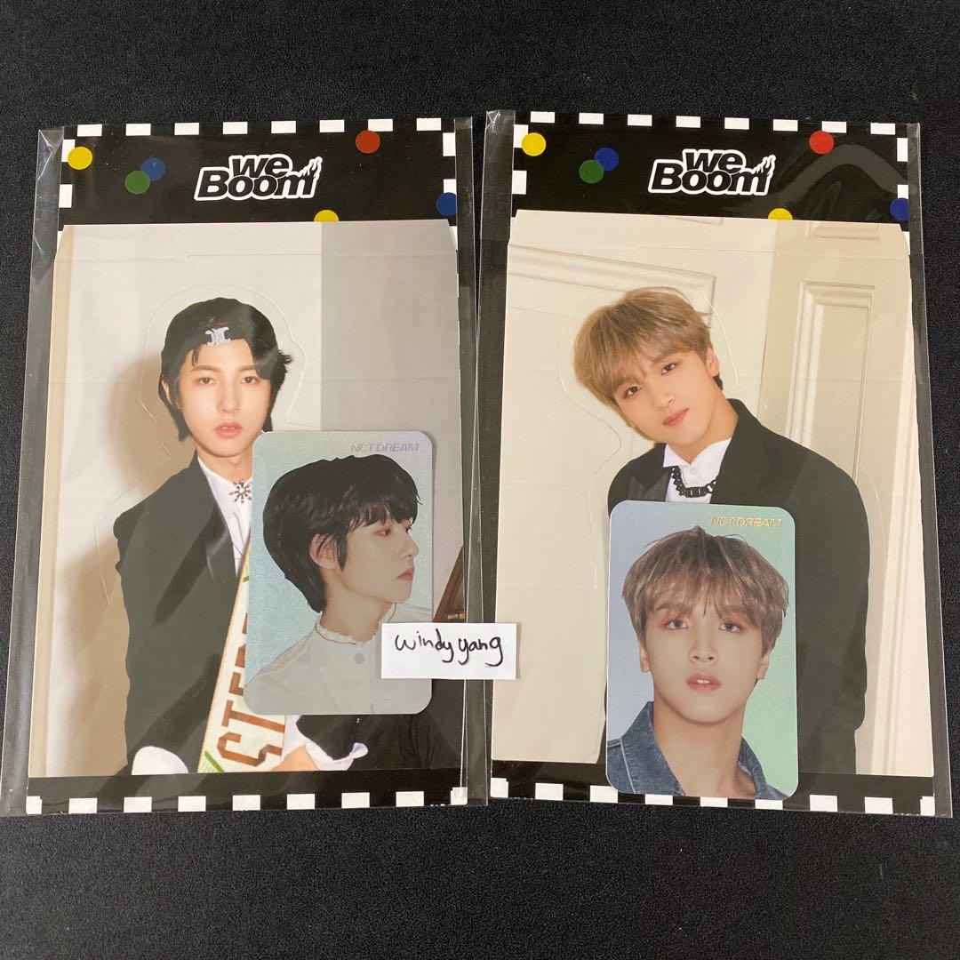 [WTS] NCT Dream We Boom Official Hologram PC Standee