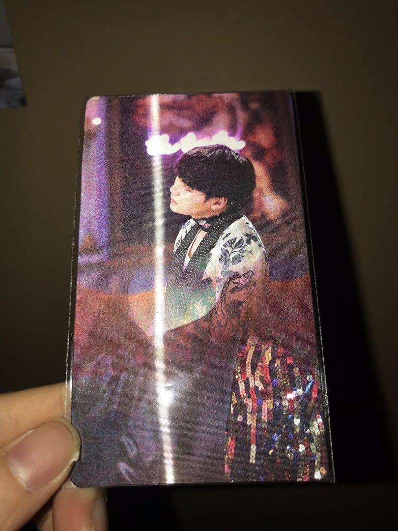 [WTT/WTS] BTS WINGS concept book Lenticular photocard