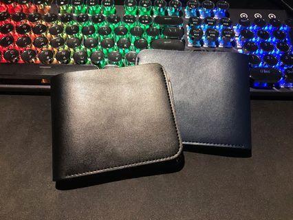 Brand new Wallet blue/black 皮革夾 藍/黑 皮夾 中性 男用 女用