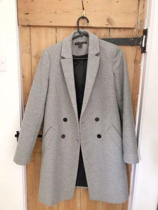 ZARA grey coat