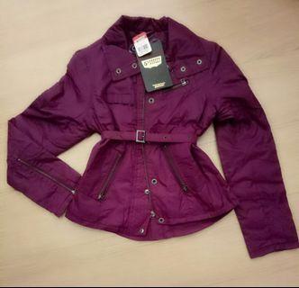 5th street 紫紅色外套