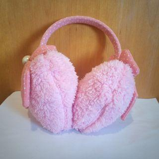 粉色保暖耳罩 | 冬天耳罩 | 冬天耳套 | 女生冬季耳罩 | 保暖耳罩 | 耳機式耳罩 | 造型保暖耳罩 | 兒童耳罩 | 兒童耳罩