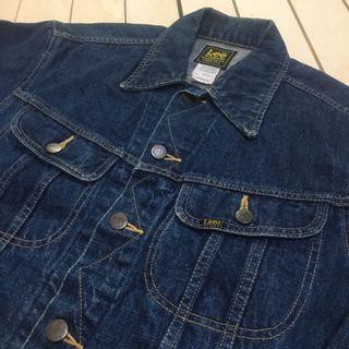 古著 Vintage 90's Lee 牛仔外套 貓眼扣 日本製