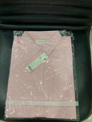lativ 女粉紅襯衫