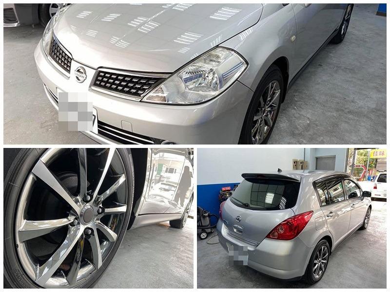 2008 日產/NISSAN TIIDA 1.8 5門 頂級I-KEY、一手車、少跑、內裝精美、無待修、0989-884-500 阿榮