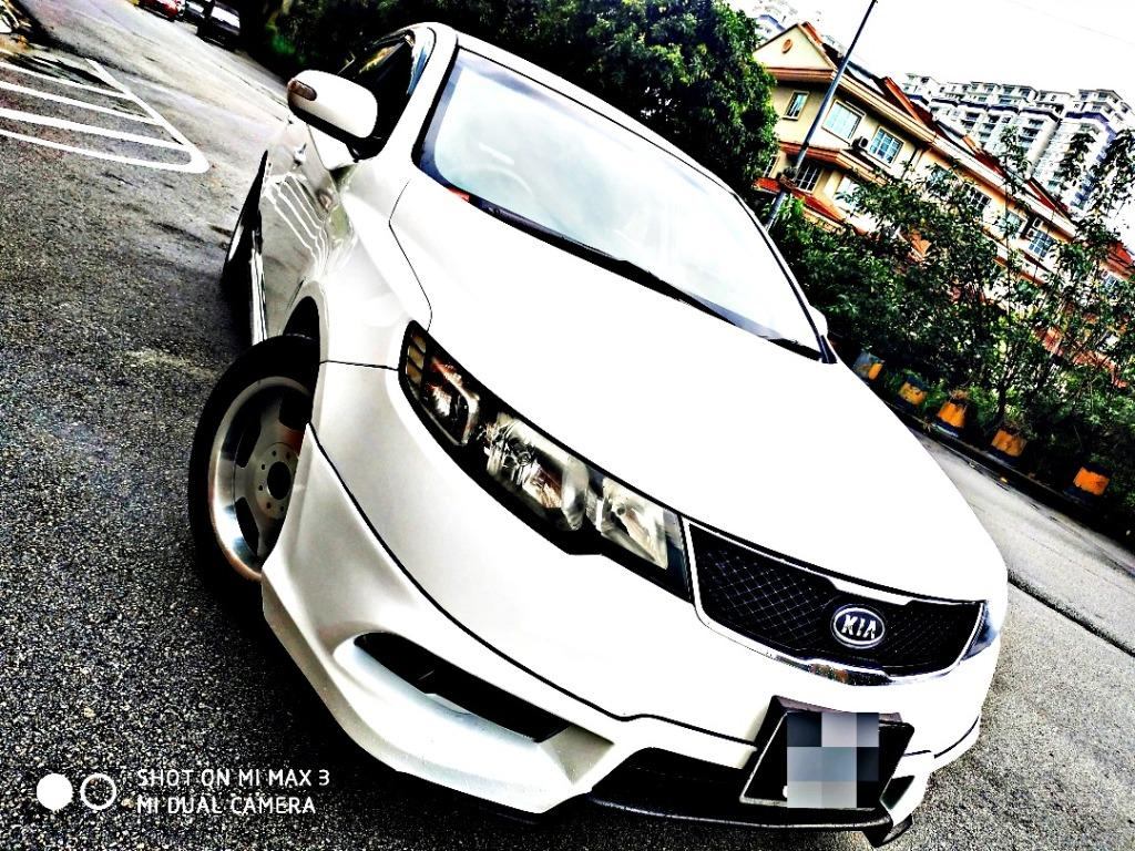 2010 Kia Forte 1.6 Auto Full Spec Loan Kedai Pasti Lulus