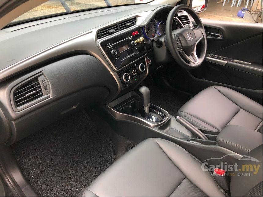 2014 Honda City 1.5 E (A) Facelift Leather Seat One Owner Modulo Bodykit     http://wasap.my/601110315793/City2014Black