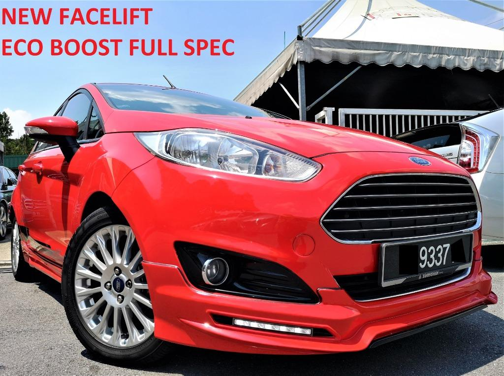 2015 Ford Fiesta 1.0 Ecoboost S Hatchback (A)[61,000KM ONLY][FULL SERVICE RECORD][ONE OWNER] 15