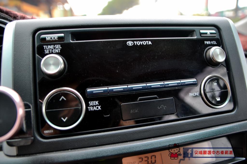2015年Toyota Wish 2.0 七人座 一手車 休旅車
