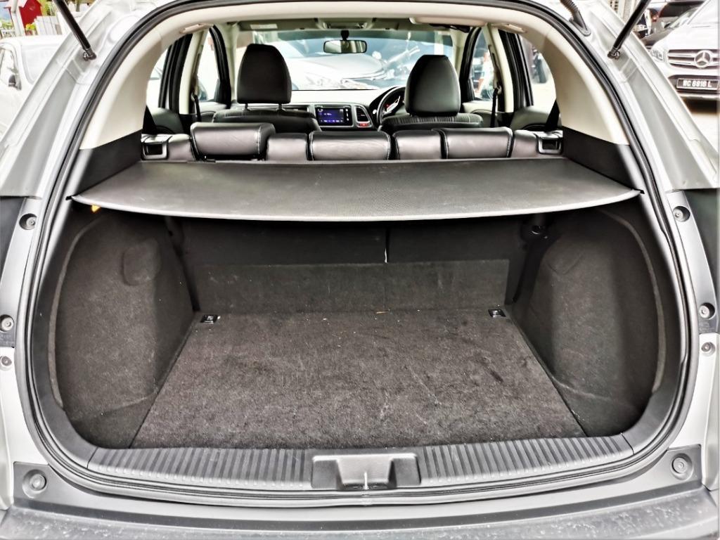 2016 Honda HR-V 1.8 i-VTEC V SUV [FULL SERVICE RECORD][UNDER WARRANTY][54,000KM ONLY]