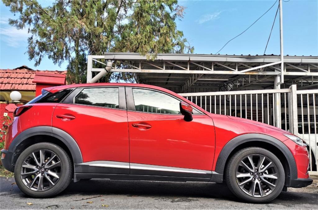 2017 Mazda CX-3 2.0 SKYACTIV SUV [1 LADY OWNER][15,000KM ONLY][UNDER WARRANTY][FULL SERVICE RECORD][JUST DONE SERVICE]TIPTOP