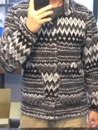 日本購回GU毛絨刷毛外套
