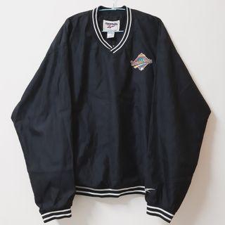 Regalo古著∣Reebok MLB 1997世界大賽刺繡logo 防風上衣