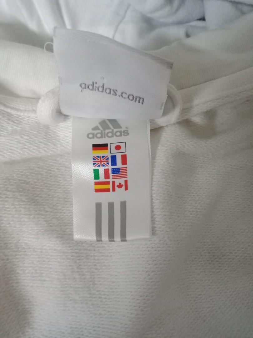 Adidas 白色外套
