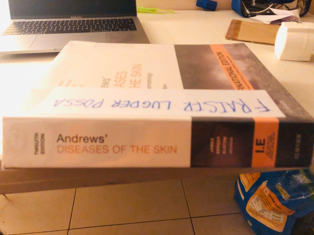 Andrews disesses of the skin 12 edition . International edition