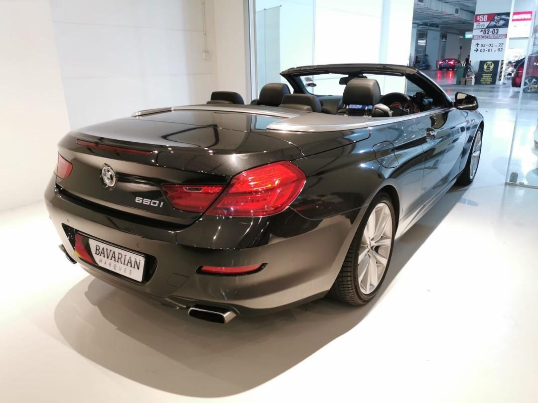 BMW 650i Cabriolet (A)
