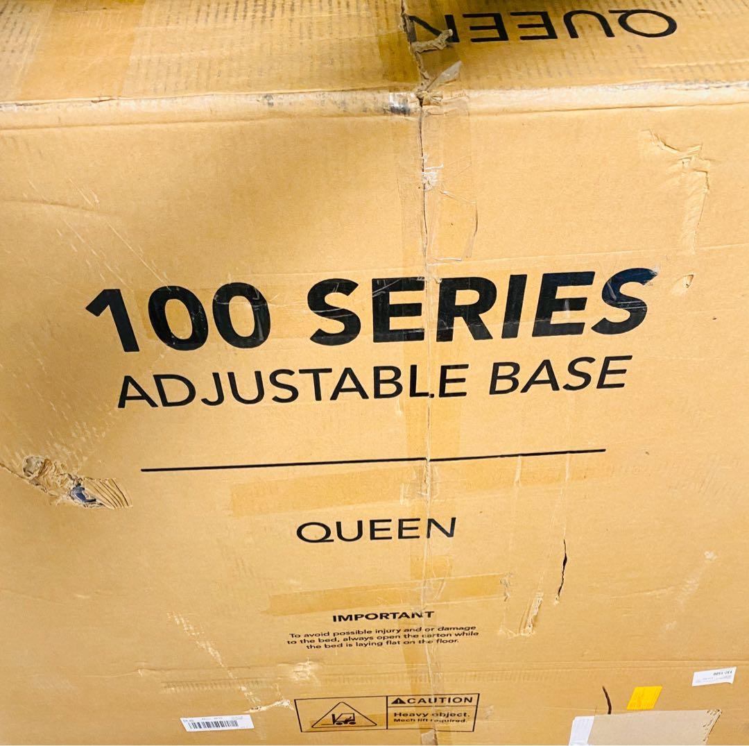 Brand NEW Lucid L100 Adjustable Steel Queen Bedframe