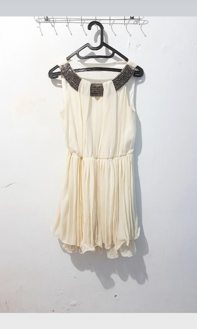 Broken White Ruffle Dress