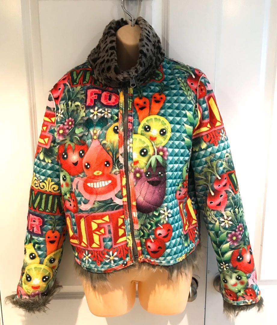 Designer, Custo Barcelona Anytime Reversible jacket