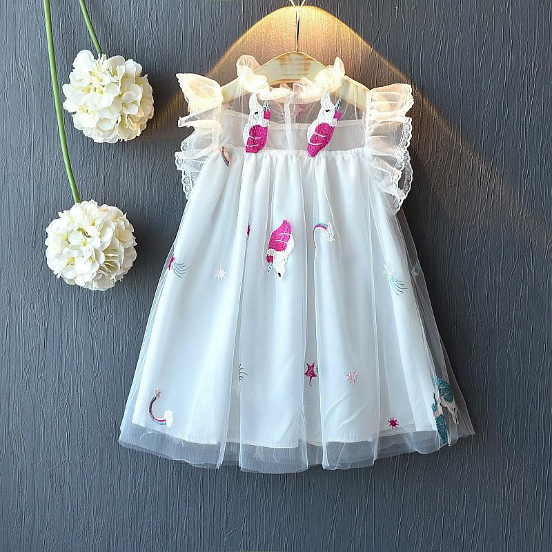 Dress tile anak UNICORN FAIRY baju dress anak perempuan model tutu import  dress pesta anak gaun anak dress anak import