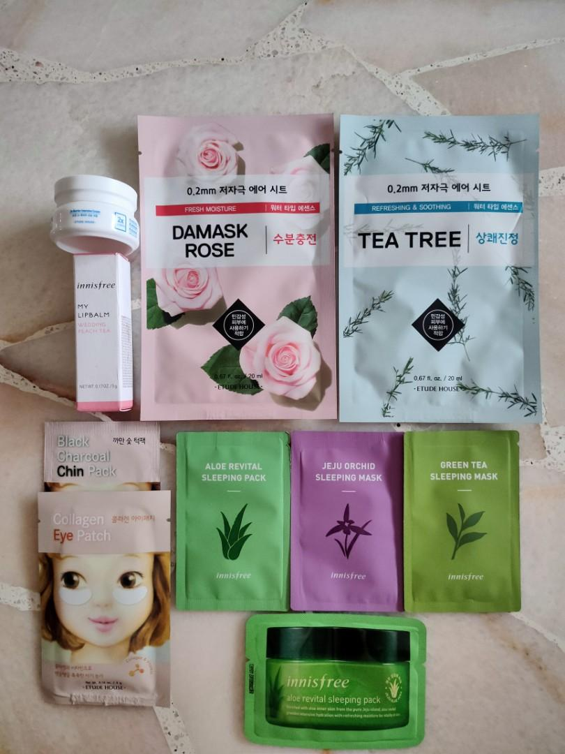 Etude House/Innisfree Facial Products Set
