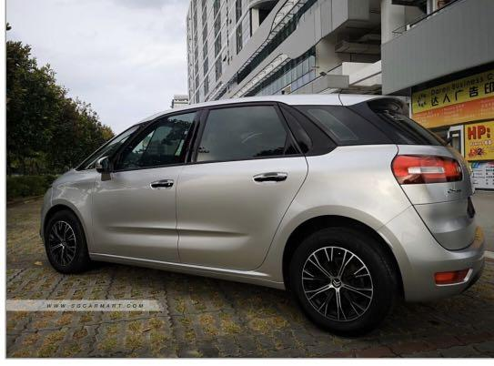 For Rent: Citroen C4 Picasso Diesel 1.6A