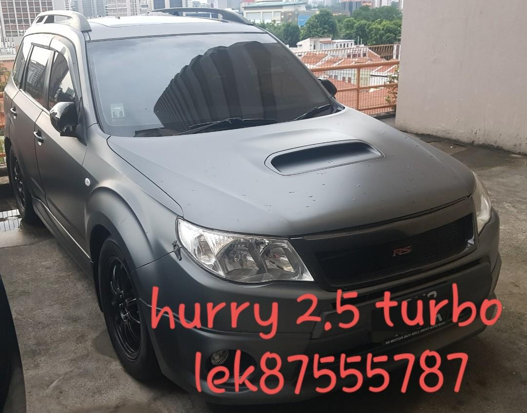 For sales only Hurry Subaru 2.5turbo