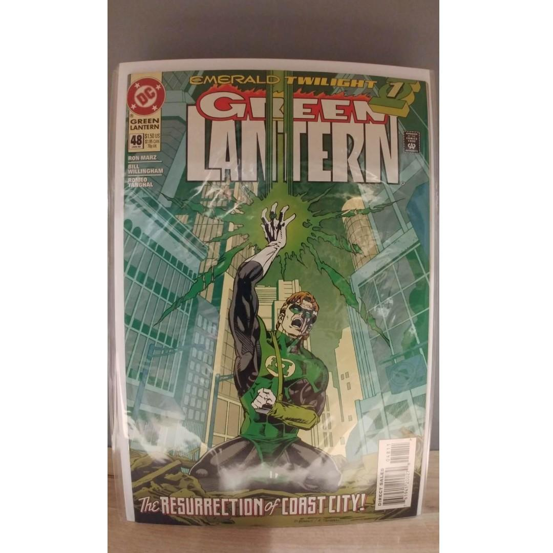 Green Lantern (1990-2004 2nd Series) #48 1ST APPEARANCE OF KYLE RAYNER