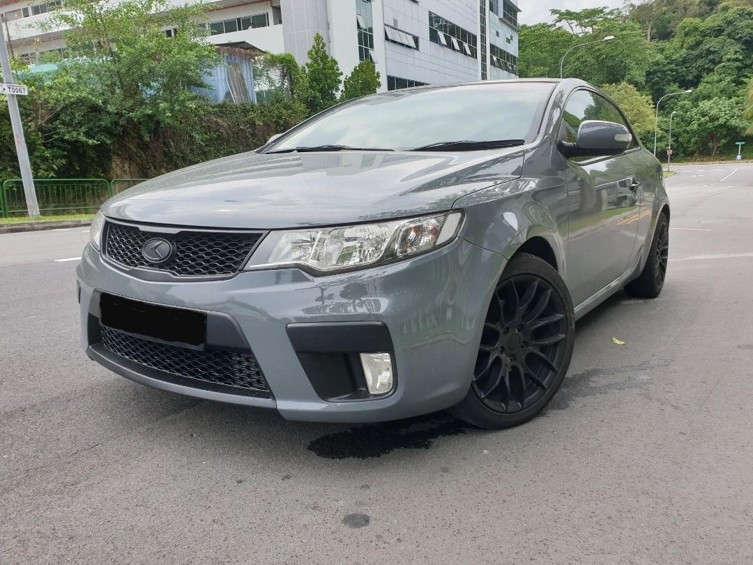 Kia Forte koup 1.6A Sunroof Auto