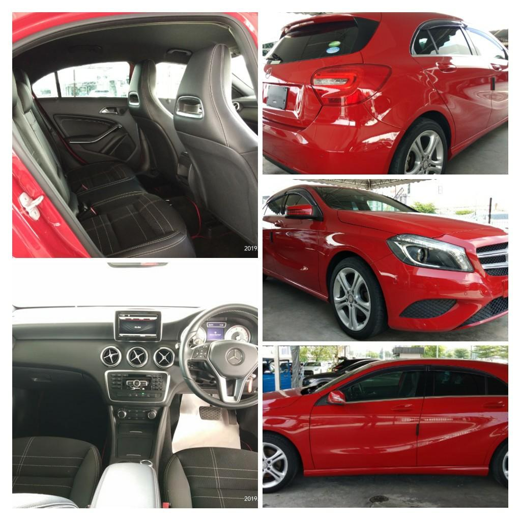 MERCEDES A180 SE 1.6TURBO  100%Year:2015✔ From:Japan🇯🇵✔new stock on the road Price RM123,888.88