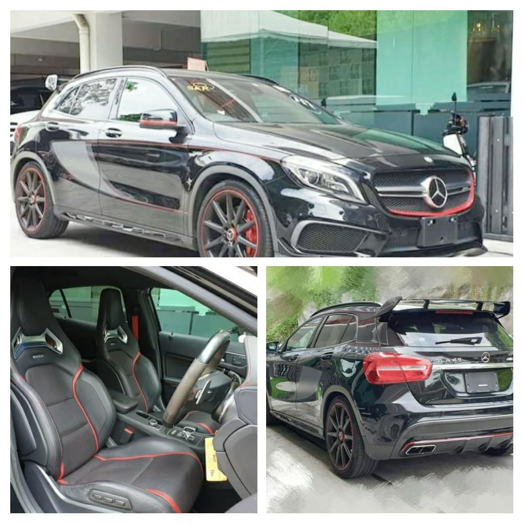 MERCEDES A45AMG 2.0TURBO  100%Year:2015✔Recon From:Japan🇯🇵✔new stock on the road Price RM265,888.88